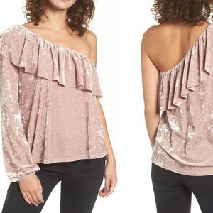 BP One-Shoulder Top